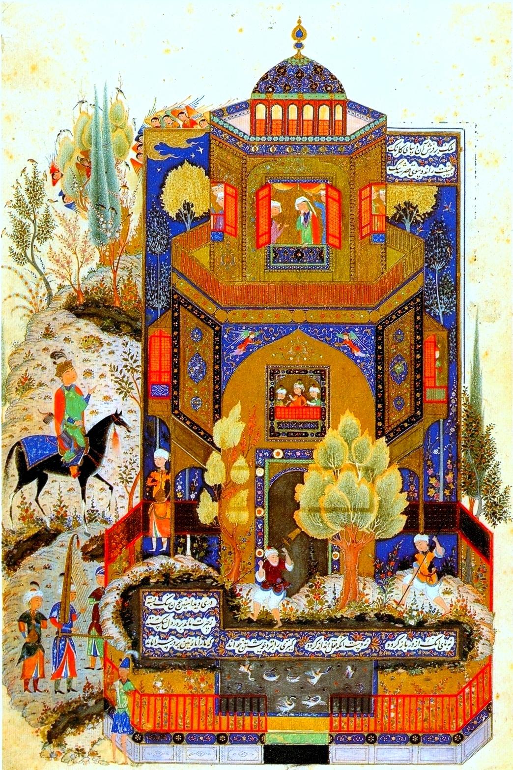 В персидско-монгольском городе Тебризе в 1327 году.jpg