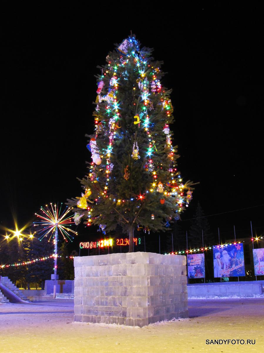 Ледяной городок 2014 в Троицке