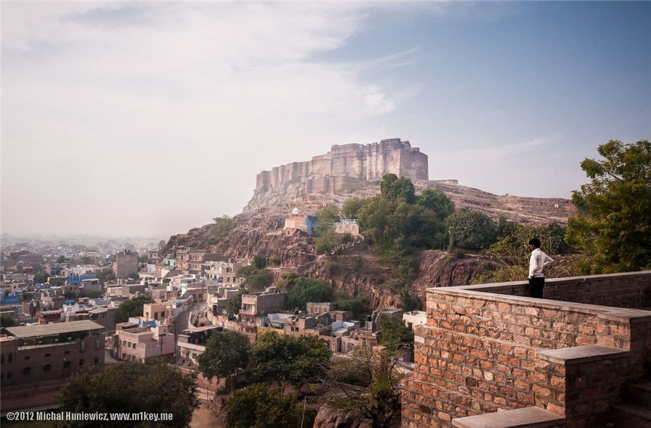 Форт Мехрангарх - путешествие по Индии / India by Michal Huniewicz