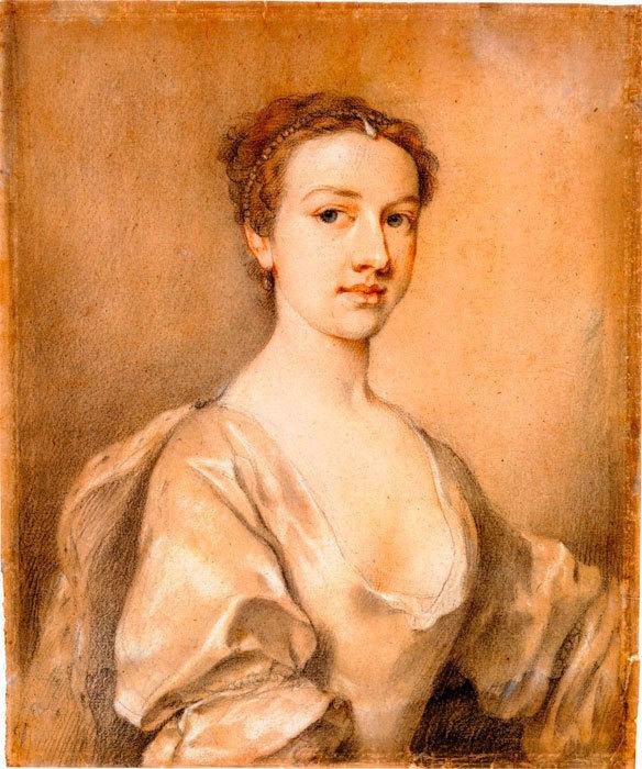 Портрет леди (1730-1739)