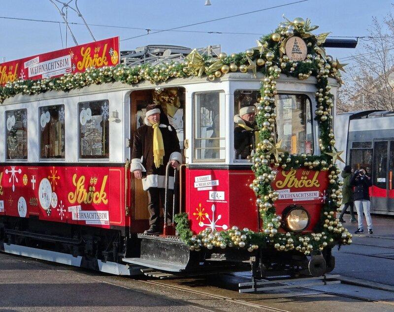 В Рождество на трамвае!