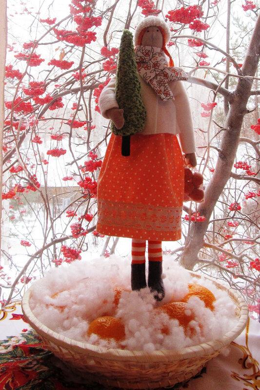 апельсины и елка