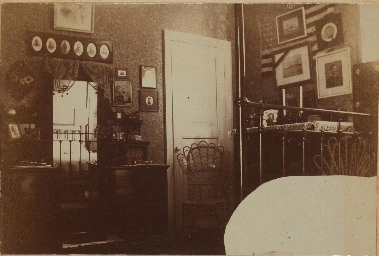 Спальня Элеоноры Прэй. 1899