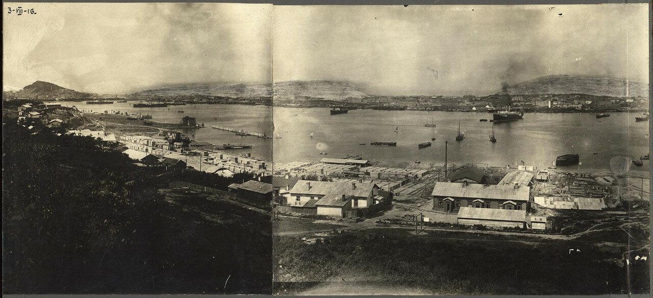 Панорама города. 1916