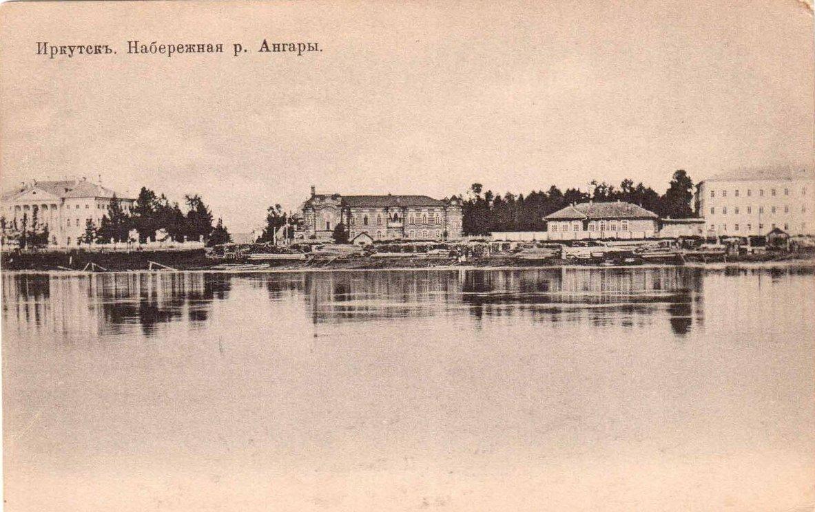 Набережная Ангары