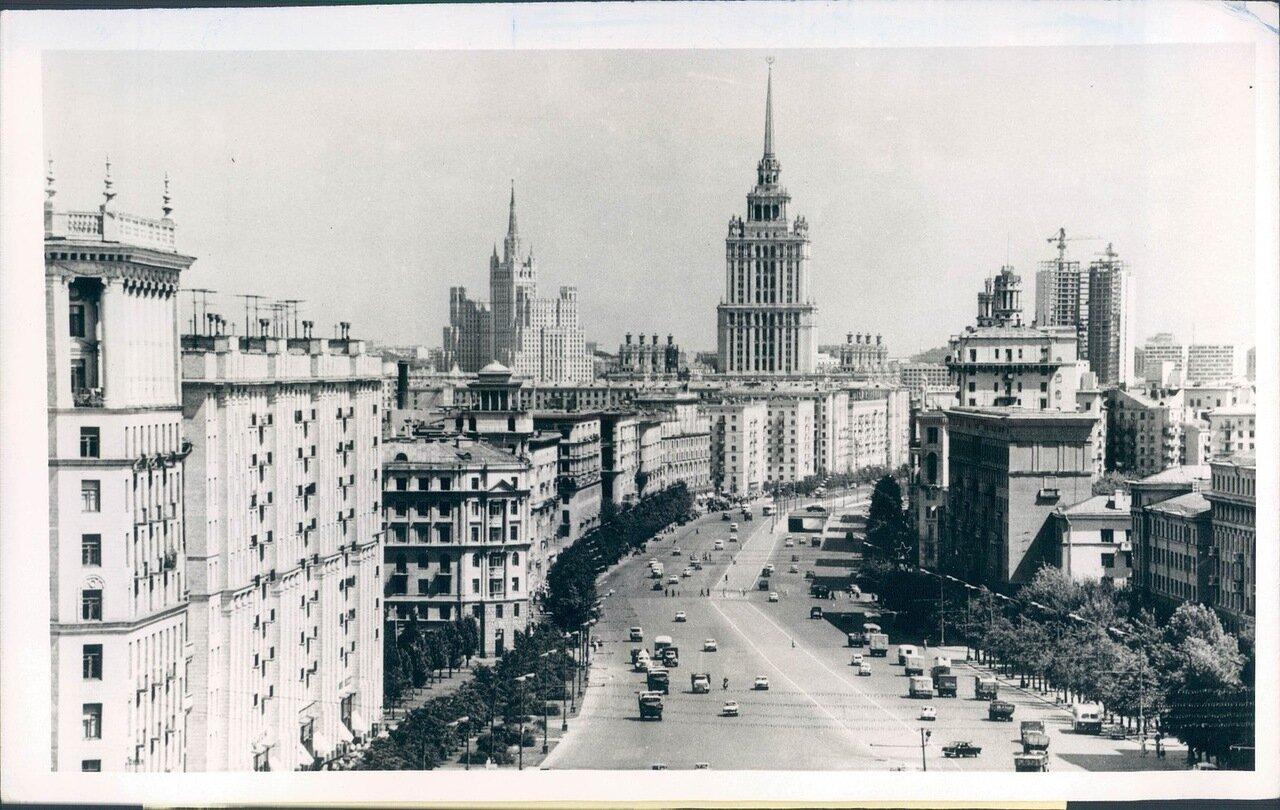 1966. Современная Москва. Кутузовский проспект