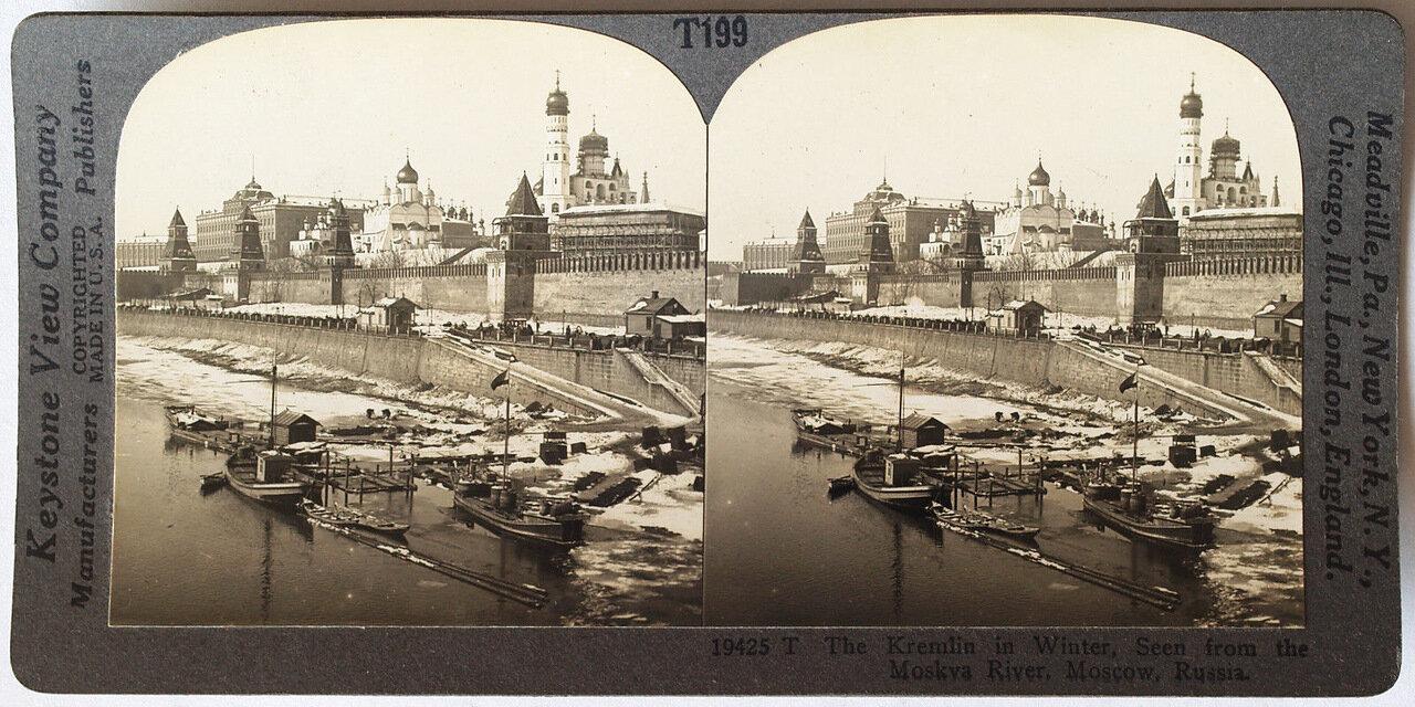 Москва. Кремль зимой