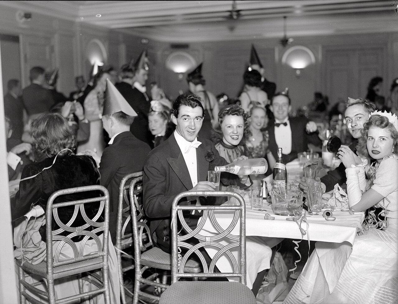 1940. Встреча Нового года. Вашингтон, округ Колумбия