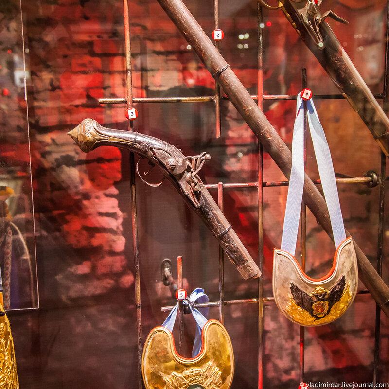 Пистолет кавалерийский, вторая половина 18 века