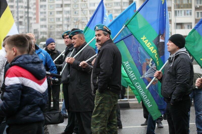 Русский марш 4 ноября 2013 - Люблино, Братиславская, Марьино