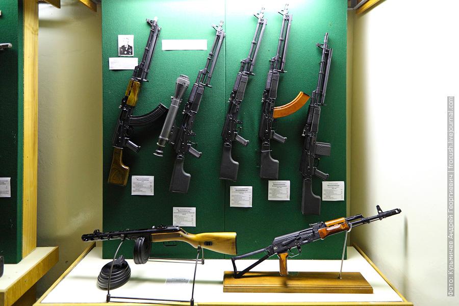 7,62 мм ручной пулемет Калашникова 6П2, 5,42 мм ручной пулемет Калашникова модернизированный РПК74М 6П39, 5,56 мм ручной пулемет Калашникова со складывающимся прикладом РПК-201, 7,62 мм ручной пулемет Калашникова модернизированный РПК-203, ручной пулемет Калашникова под патрон 7,62 РПК-204