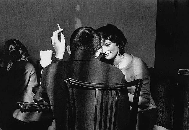 Frank Horvat Warsaw Couple 1963