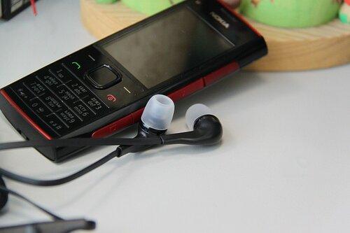 Nokia X2-00 (с гарнитурой)