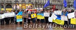 В Европе и США прошли митинги в поддержку Евромайдана