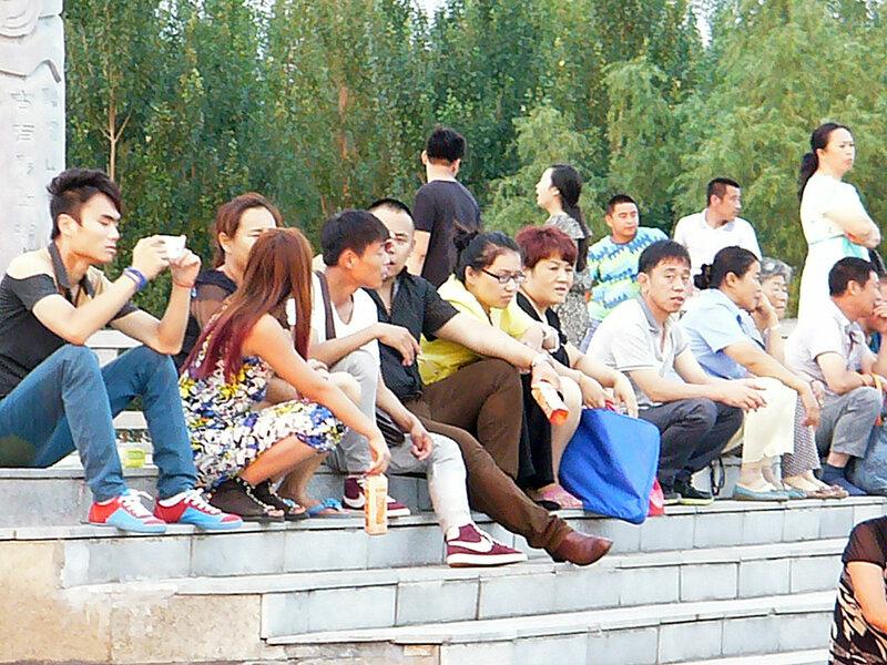 Город Дзиси в Китае