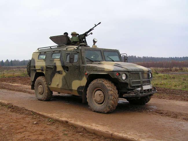 СТС ГАЗ-233014 - специальное транспортное средство, армейский бронированный многоцелевой автомобиль.jpg