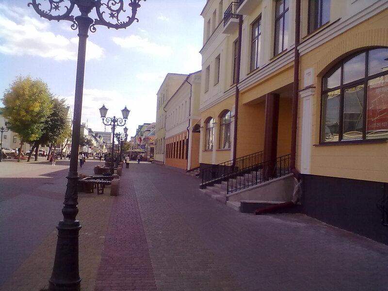 Широкие улицы Бреста