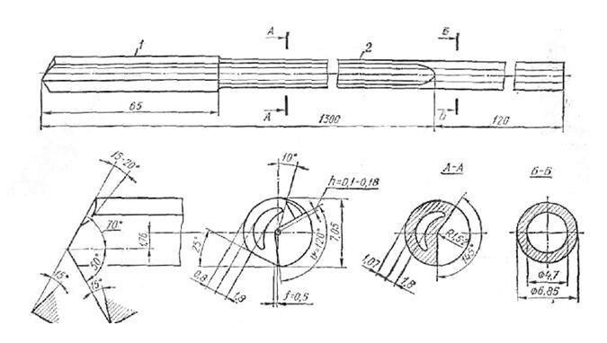Мы на производстве используем эту конструкцию сверла