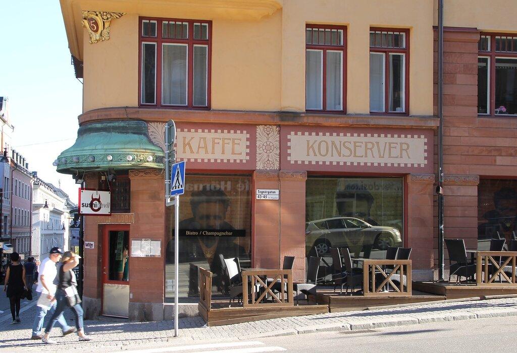 Stockholm. The house-Museum of the August Strindberg. Blå tornet