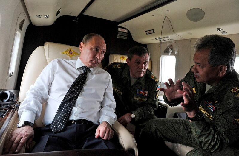 Russia Military Exercise