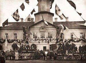 Малоохтенский отдел Санкт-Петербурского Пригородного Пожарного Общества. 1902 г.