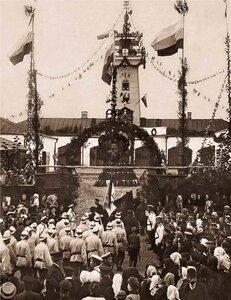 Праздник Даниловской Добровольной Пожарной Дружины. 1910 г.