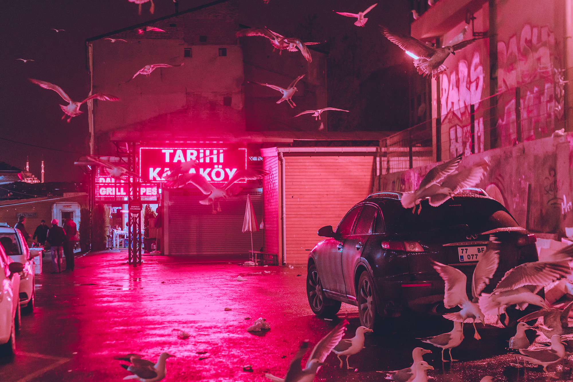 Photographer Elsa Bleda  captures hazy moments that linger on the outskirts of the cities she visits