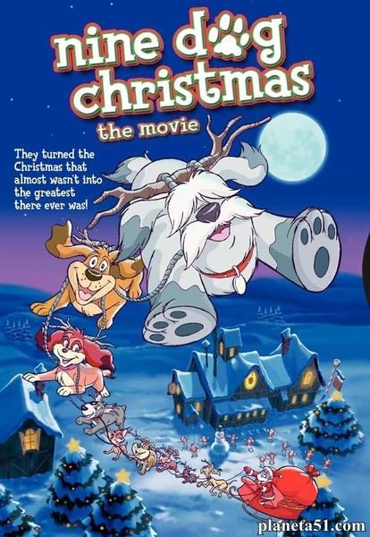 Девять рождественских псов / Nine Dog Christmas (2004/HDRip)