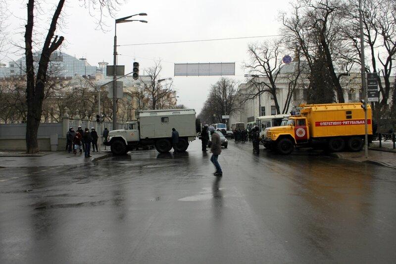 Перекрыта улица Грушевского