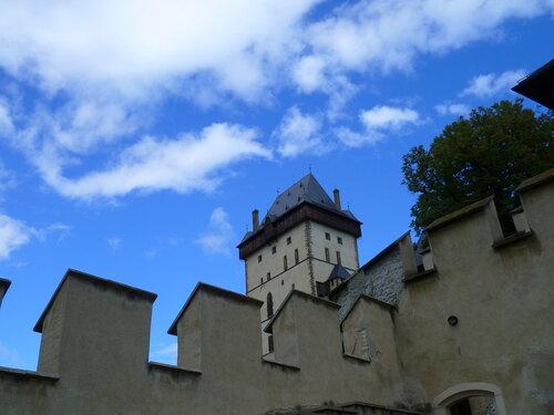 Чехия, замок Карлштейн (Czech Republic, Karlstejn Castle)