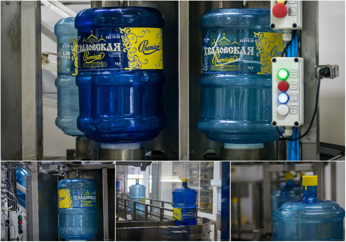 Как производят питьевую воду