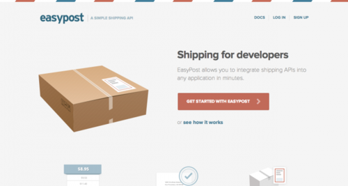 EasyPost   The Simple Shipping API