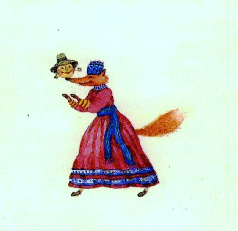 Русские детские сказки, художник Евгений Антоненков