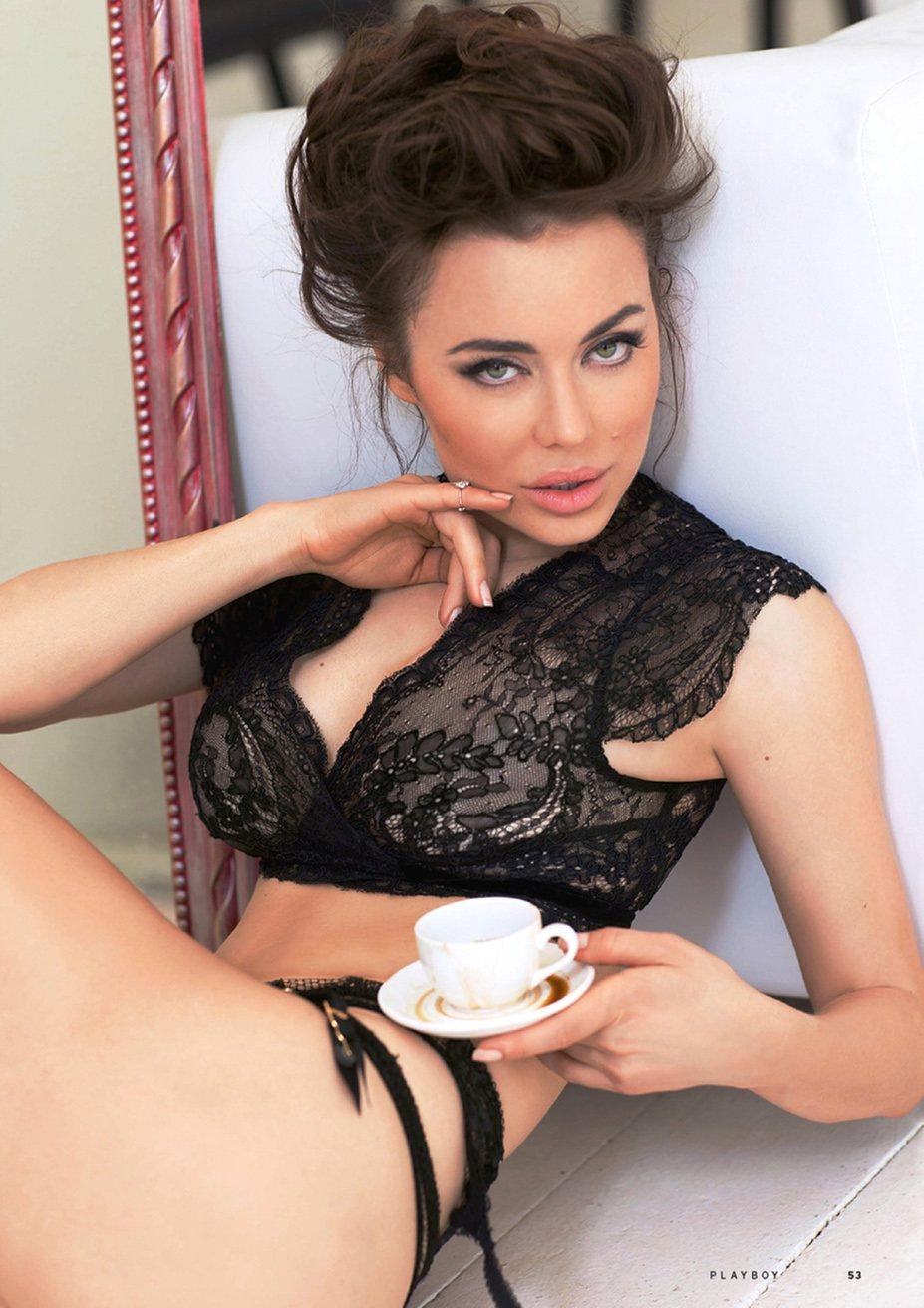 Дарья Герман - Playboy Россия, август 2013