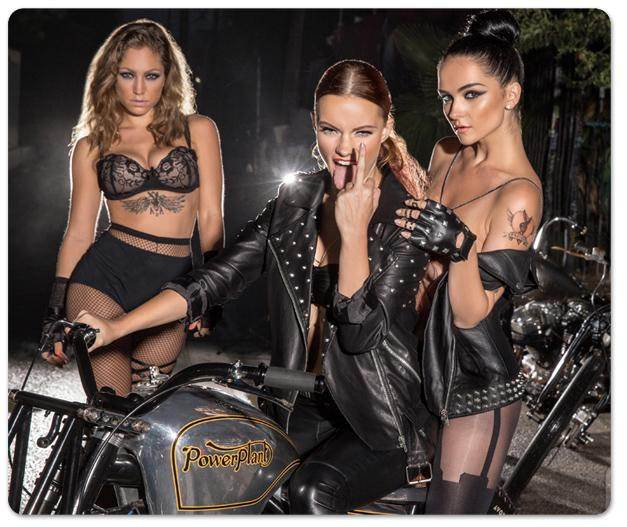 Ангелы Анархии - Евгения Диордийчук / Yevgeniya Diordiychuk, Katie Carroll and Jade Bryce - Angels of Anarchy by Playboy