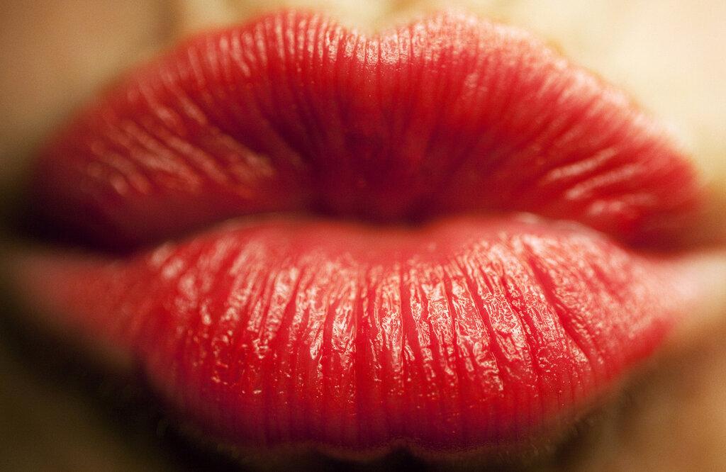 Картинка с губами поцелуй, для открытки