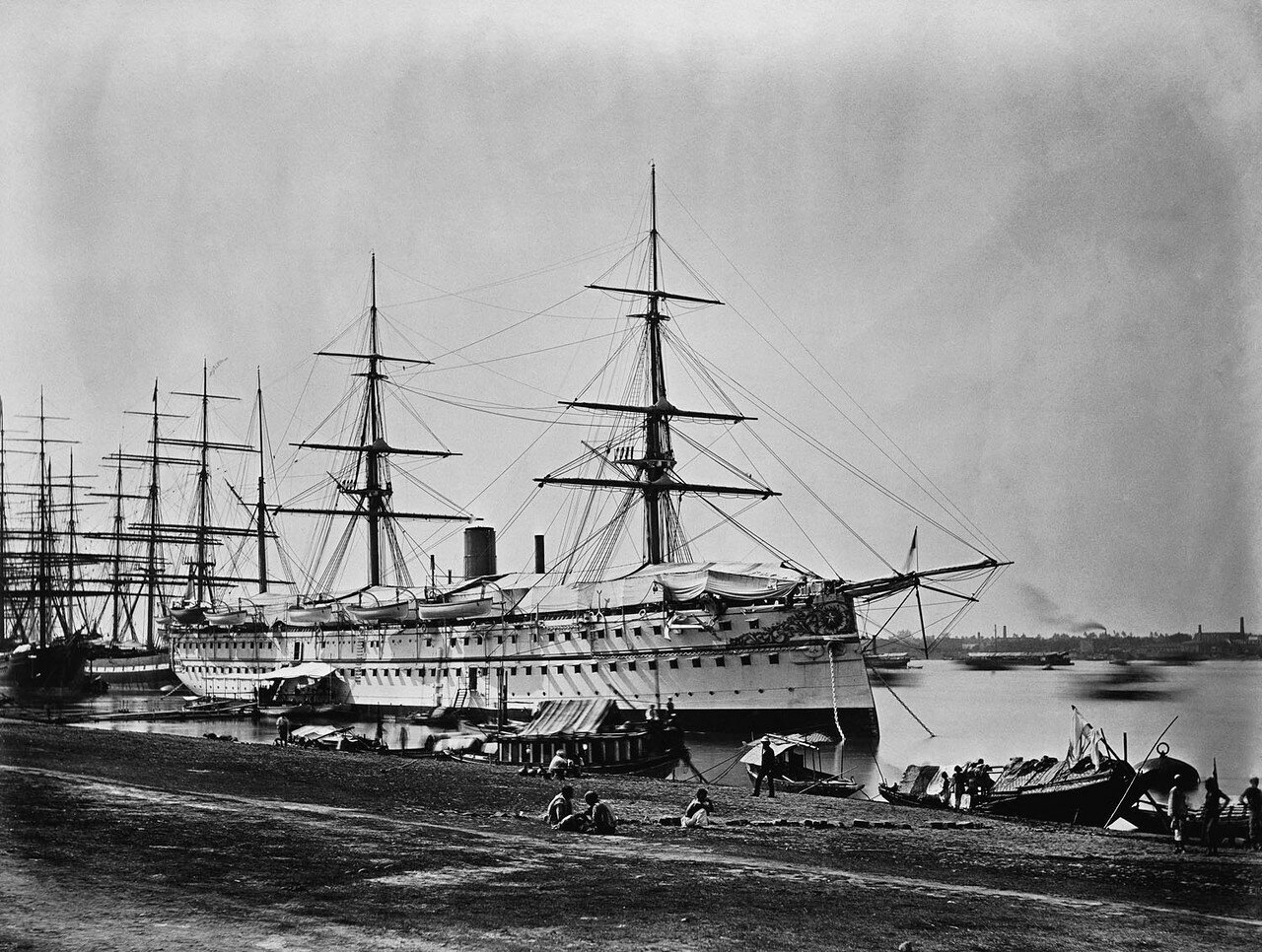 159. HMS «Серапис» (Калькутта, Рождество 1875)