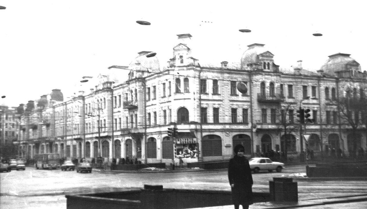 Бессарабская площадь. 1980 год
