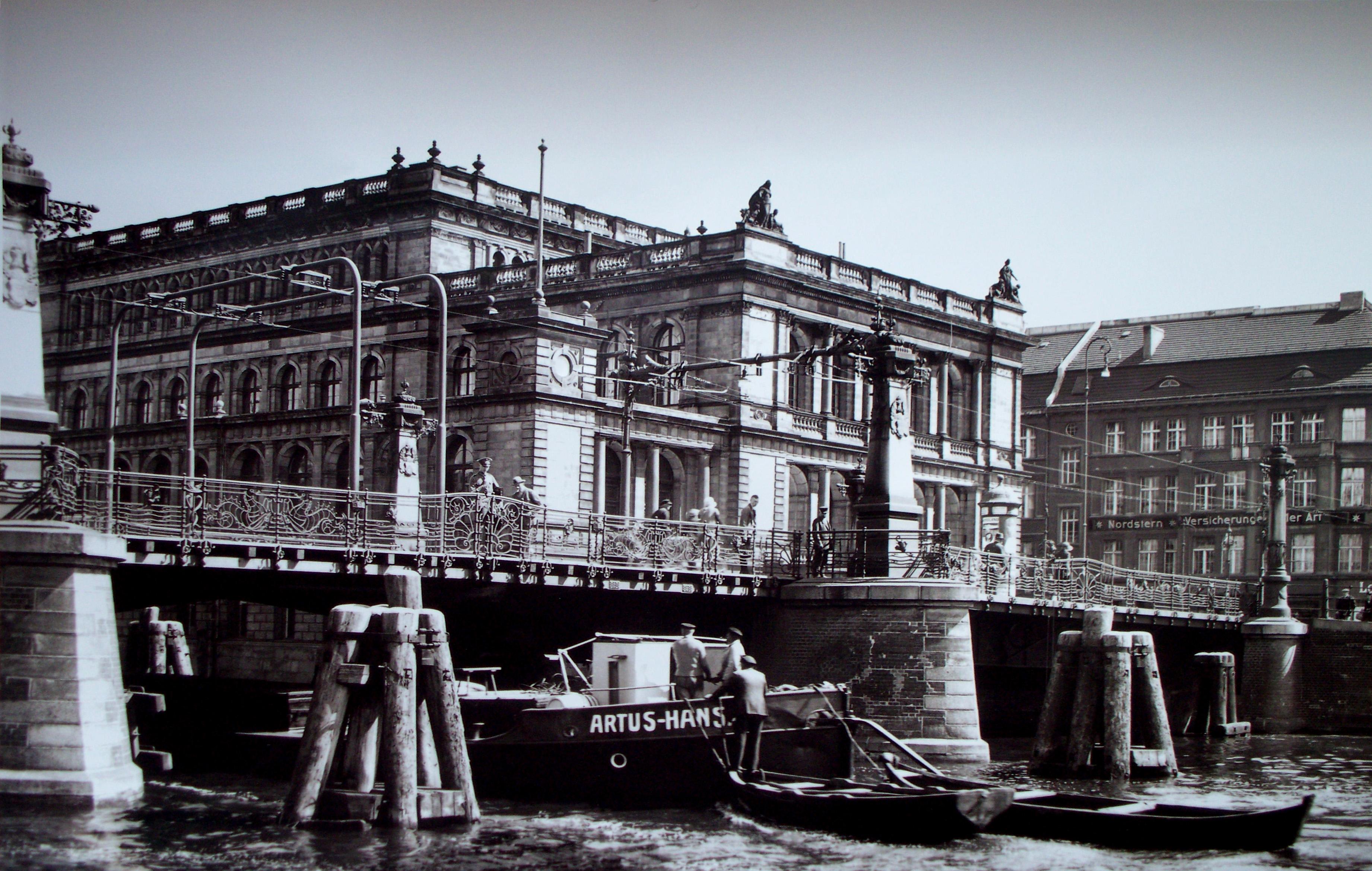 Зелёный мост и Биржа, 1929
