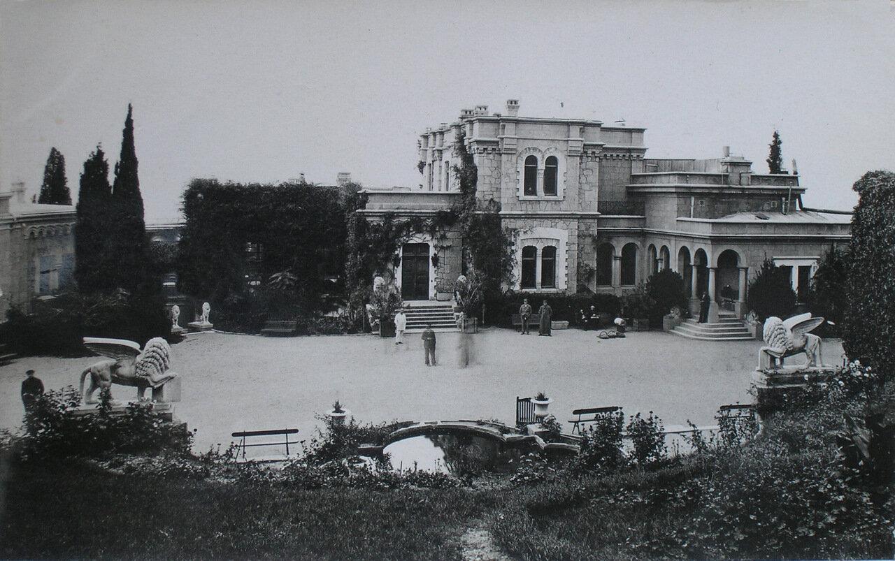 Юсуповский дворец в Крыму близ Ялты