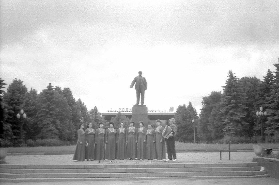 1988. Концерт посвященный Дню Победы.
