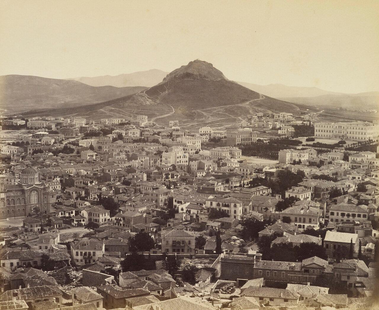 31 мая 1862. Афины, современная часть города
