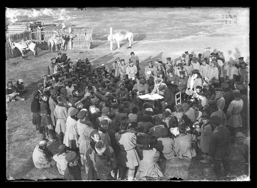 Сходка якутов, 1902