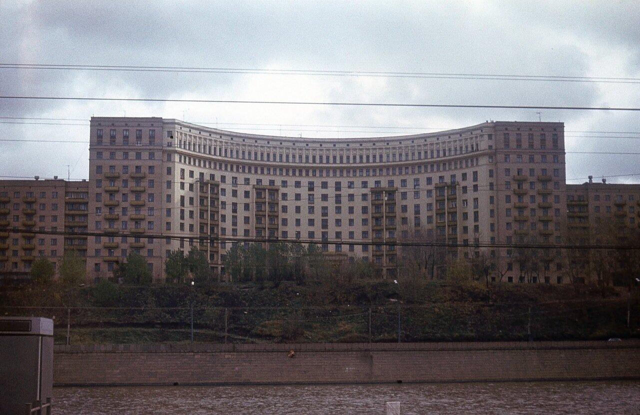 Дом архитекторов на Ростовской набережной. Ок. 1978 г.