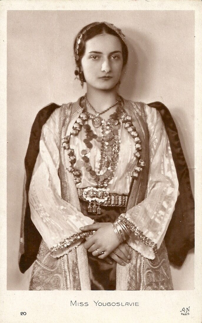Мисс Югославия. Стефани Дробняк