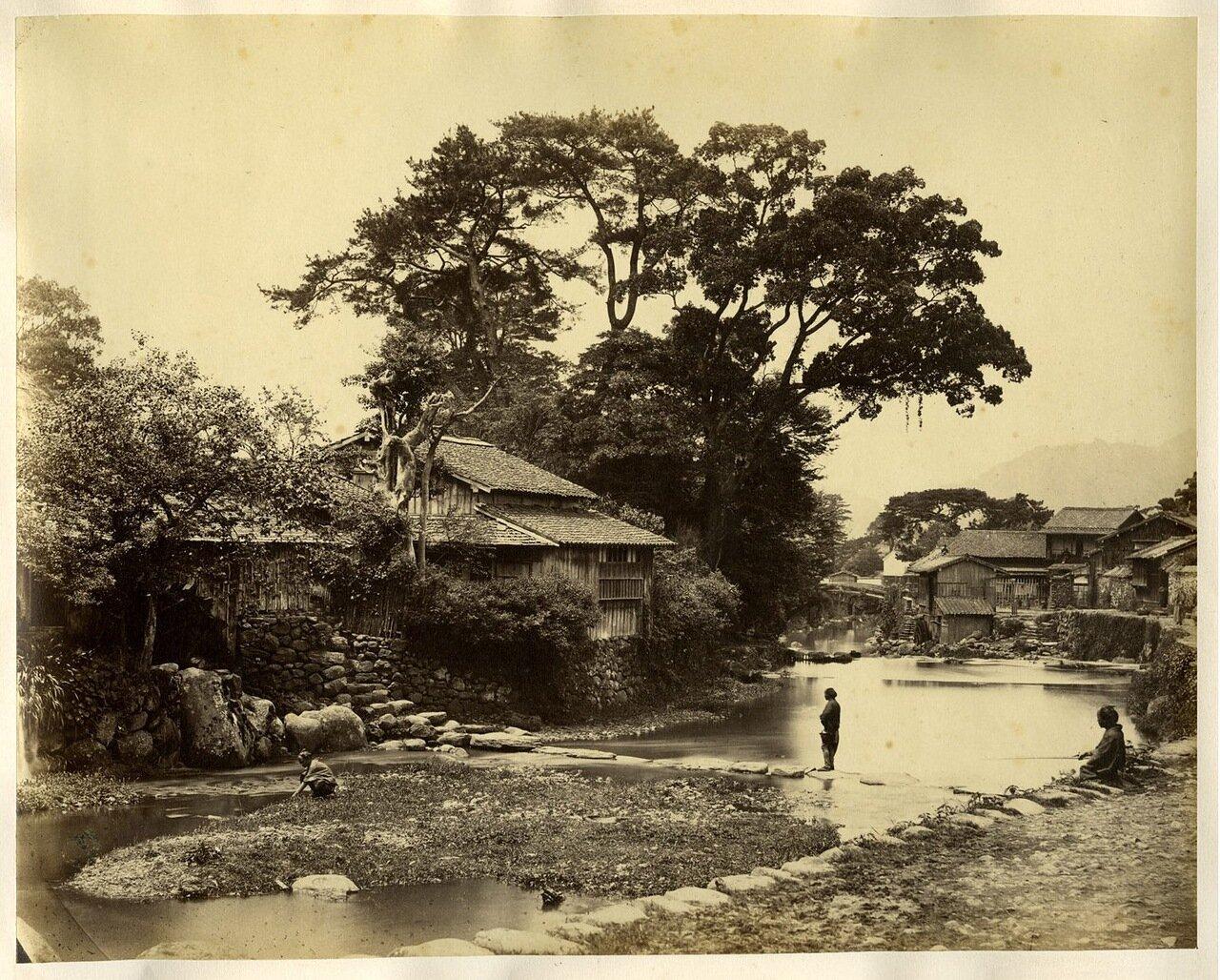 Нагасаки. Хижины местных жителей