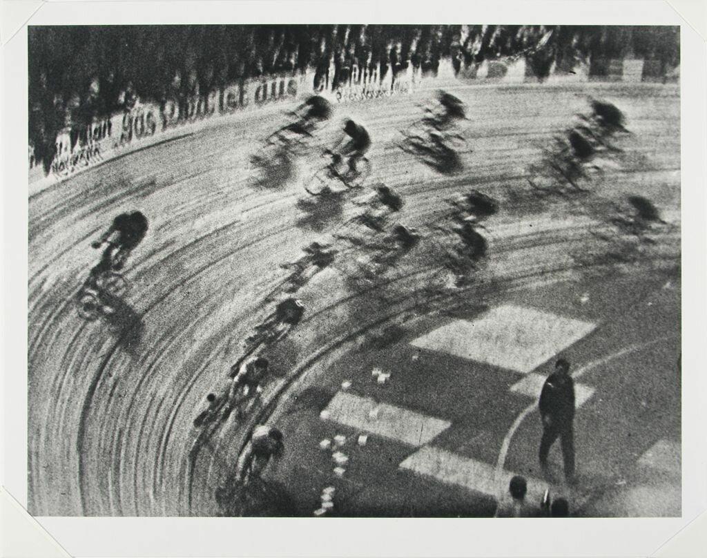 1928. Шестидневная гонка велосипедов, дворец спорта, Берлин