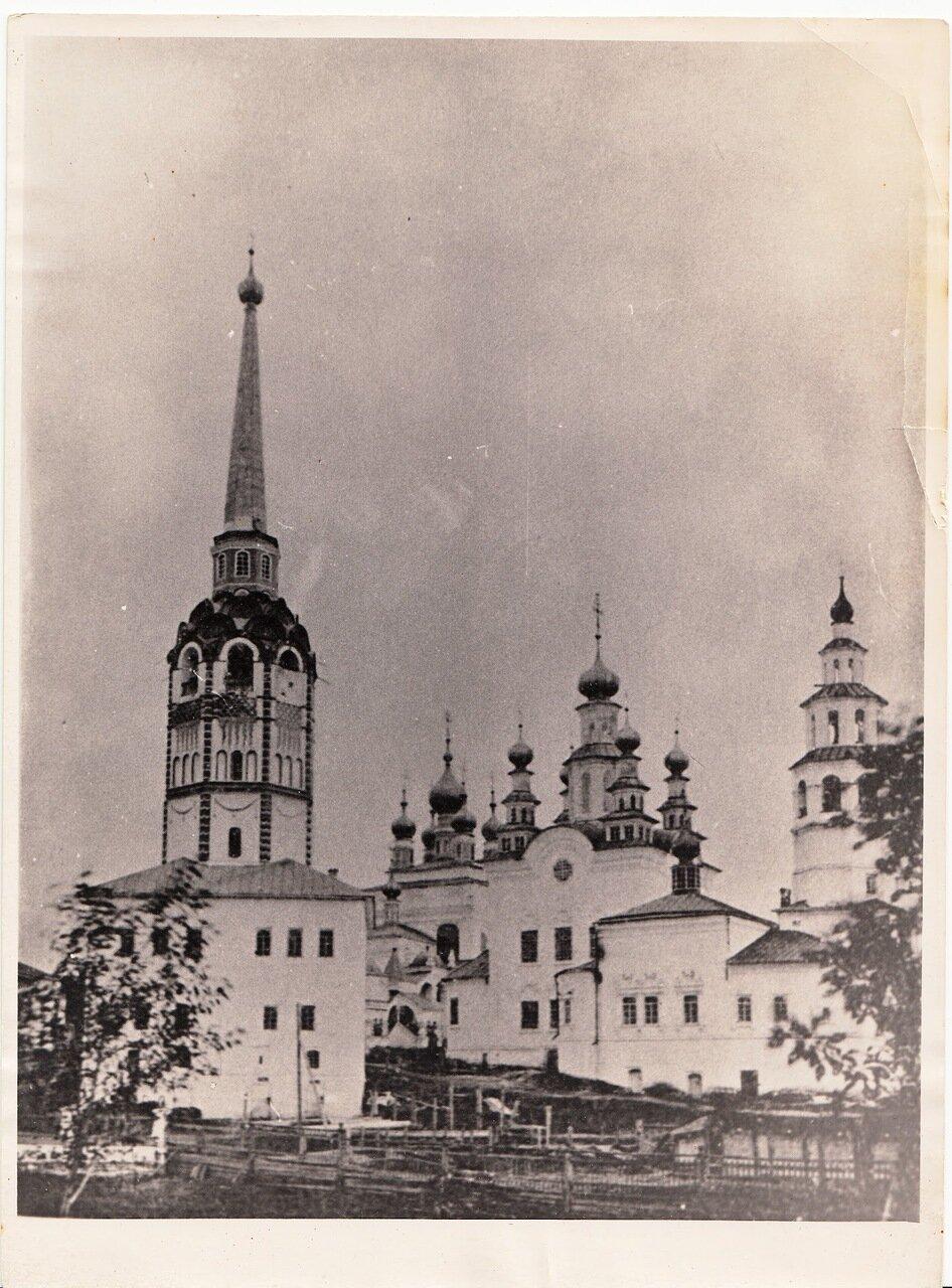 Соборная колокольня. 1900