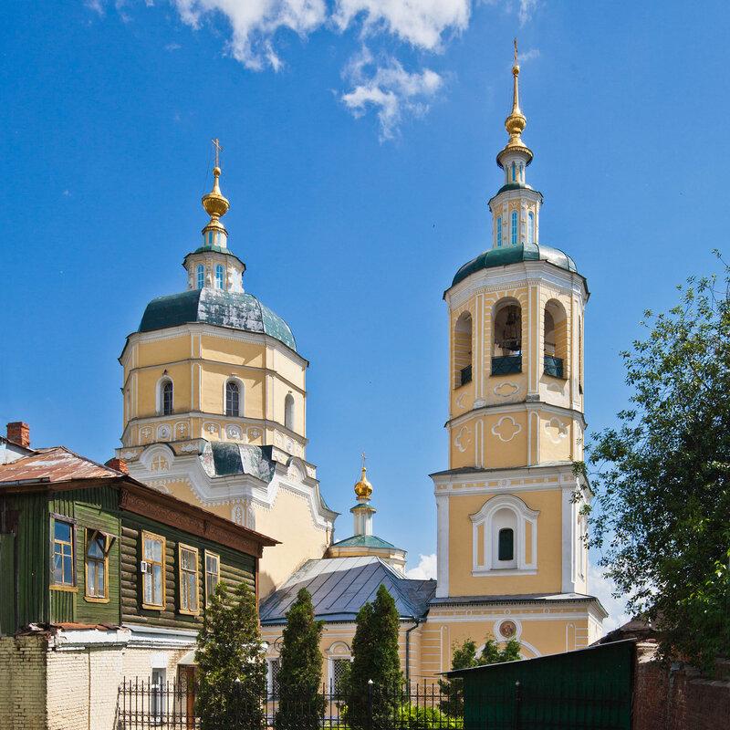 Желтая Ильинская церковь - Серпухов, Красная Гора