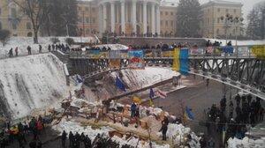 Киев: Дух и плоть протестного Майдана